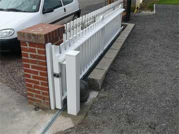 Portails - Comment motoriser un portail coulissant ...